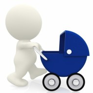 Heeft uw baby last van darmkrampjes? Bezoek eens een osteopaat.